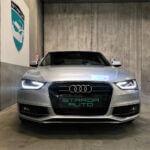 Nyere brugt Audi A4 set forfra
