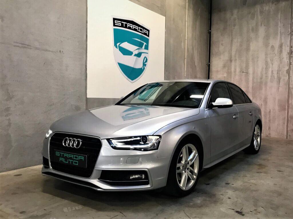 Flot Audi A4 set forfra