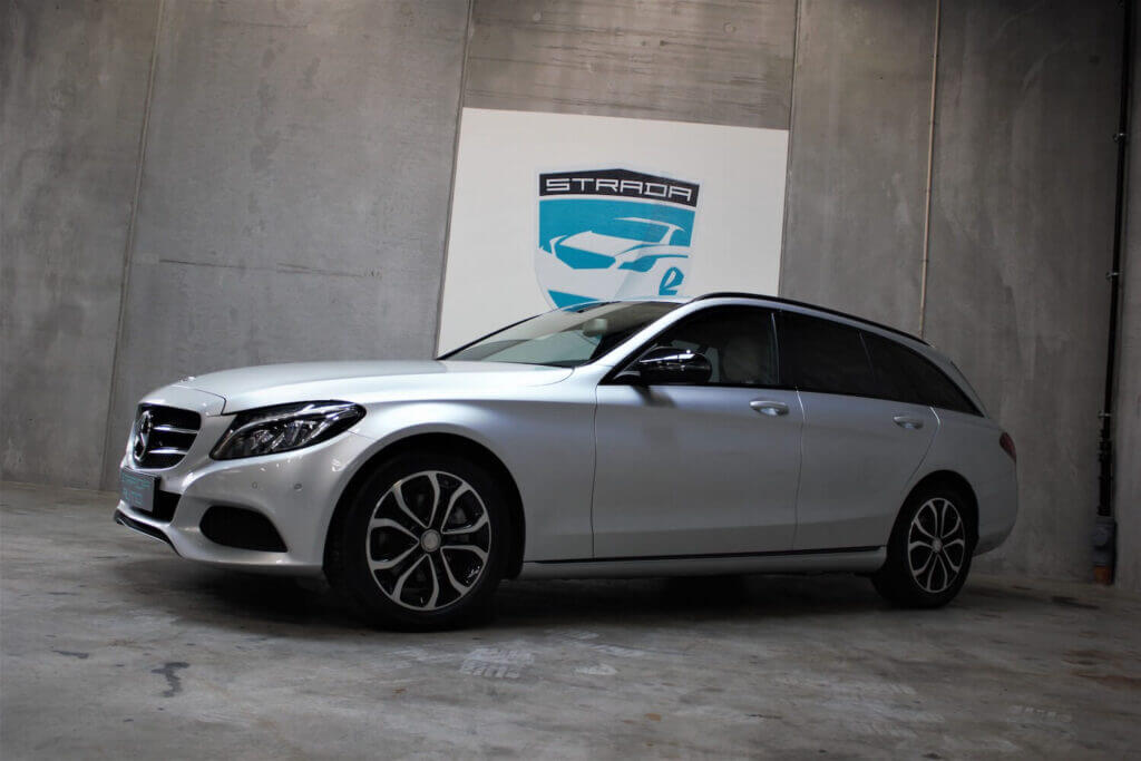 Yderst velholdt Mercedes C220 stationcar