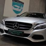 Mercedes C220 set forfra