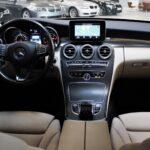 Luksuriøst interiør i Mercedes C220