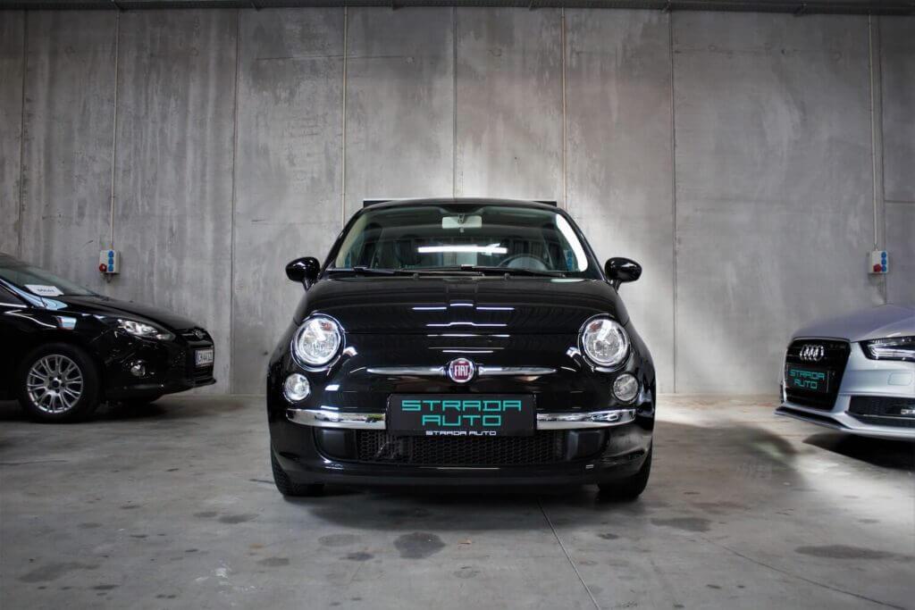 Brugt Fiat 500c set forfra