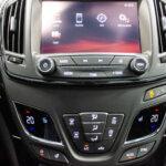 Navigationsskærm i Opel Insignia