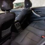 Bagsæder i BMW 320