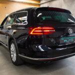 Sort VW Passat set bagfra