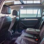Bagsæder i sort VW Passat