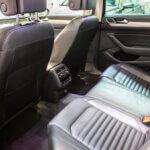 Bagsæder i læder i VW Passat