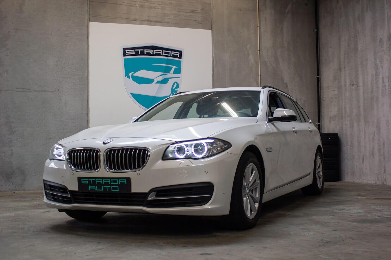 Brugt BMW 520d i hvid