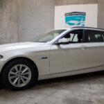 Flot og velholdt hvid BMW 520 i Slagelse