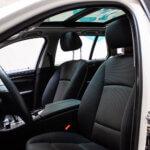 Forsæder i hvid BMW 520d i Slagelse
