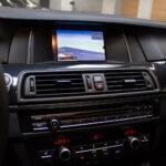 Radio og navigation i BMW 520