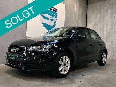 Velholdt sort Audi A1