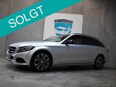 Solgt Mercedes C220d